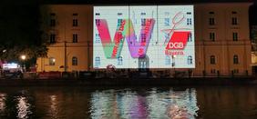 Lichtaktion Isarinselfest 2021