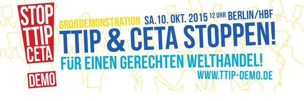 Logo Demo TTIP 10.10. Berlin