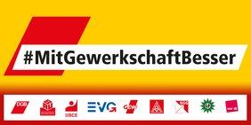 Logo #MitGewerkschaftBesser