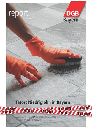 Seite 1 Report Tatort Niedriglohn 2020