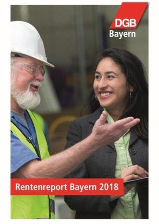Titelbild Rentenreport Bayern 2018