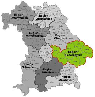 Oberbayern Niederbayern