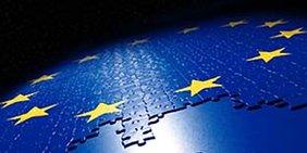 Gelbe Europasterne auf blauem Grund, Puzzlespiel