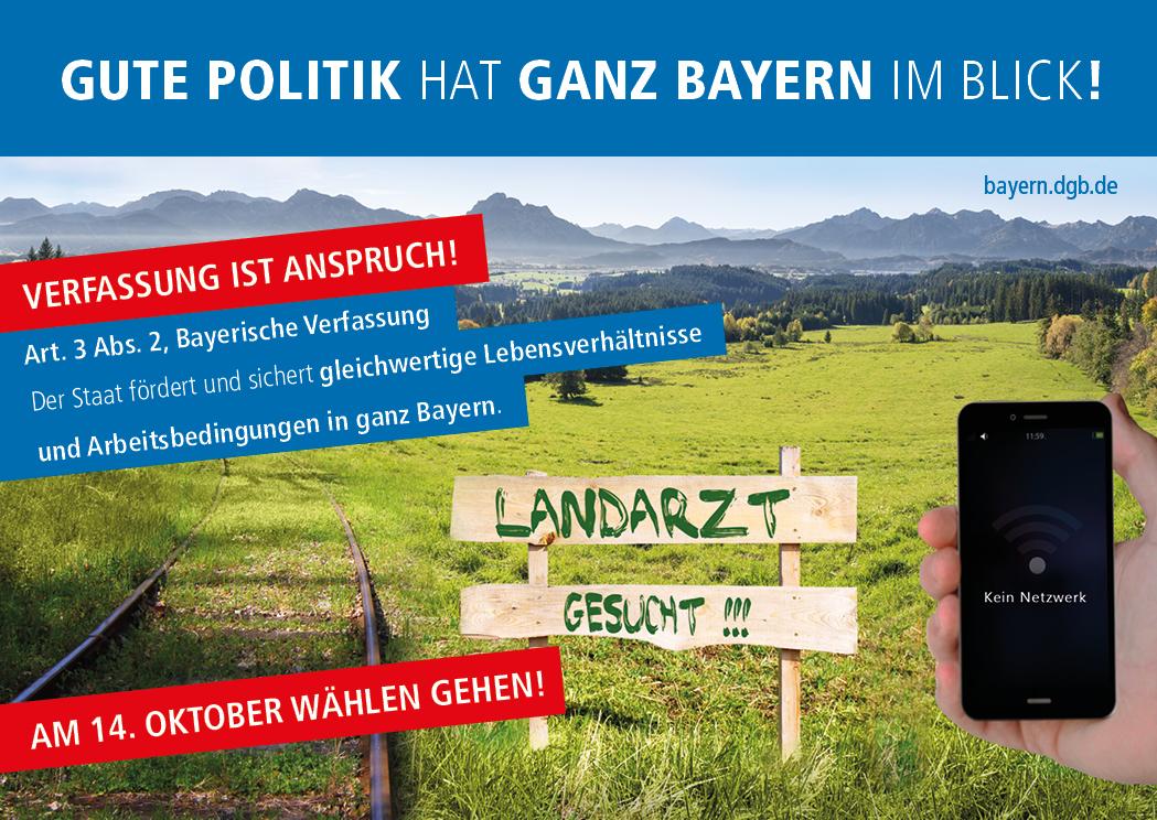 Gute Politik hat ganz Bayern im Blick!