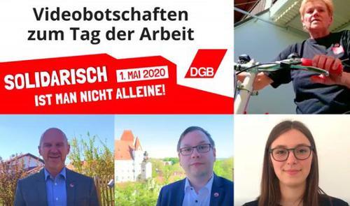 Videobotschaft des DGB Oberbayern