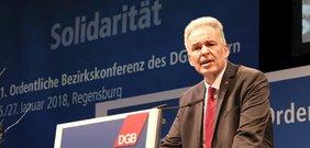 Matthias Jena auf der Bezirkskonferenz 2018