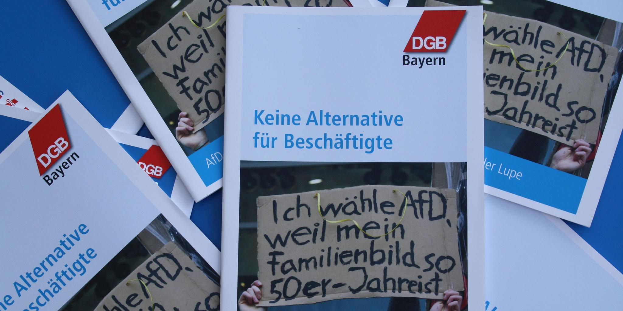 AfD - Keine Alternative für Beschäftigte!