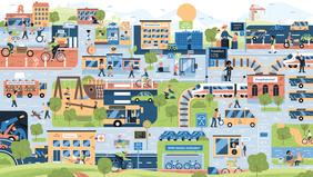 Kampagnenbild des Bündnis sozialverträgliche Mobilitätswende