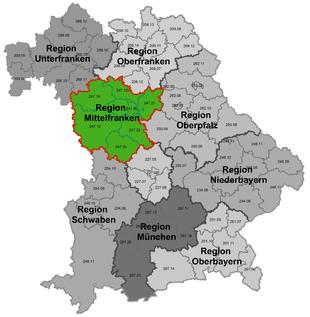 Oberfranken Unterfranken