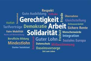 Logo der 21. Ordentlichen Bezirkskonferenz des DGB Bayern