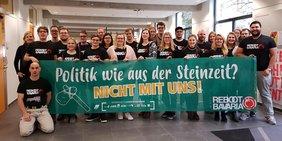 Der Bezirksjugendausschuss der DGB-Jugend Bayern