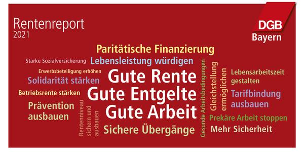 Rentenreport Bayern 2021