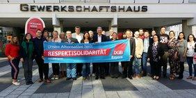 Unsere Alternative heißt Respekt und Solidarität!