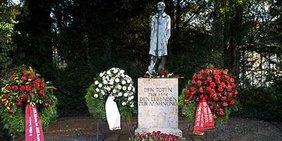 Denkmal für die Opfer des Nationalsozialismus in der KZ-Gedenkstätte Dachau
