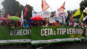 """Rede von Matthias Jena zur Demonstration """"STOPP TTIP & CETA"""" 2016 in München"""