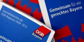 Teaser Geschäftsberichte DGB-Regionen Bayern 2014