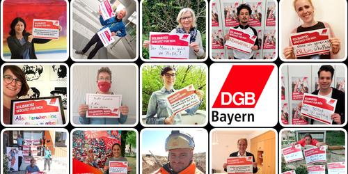 Solidarität ist für mich...Bayern hat geantwortet