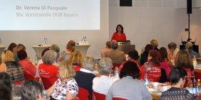 2. Frauengipfel des DGB Bayern am 16. Juni 2018
