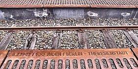 Bahnhof Grunewald Mahnmal Gleis17 Deportation und Ermordung der Juden Berlins