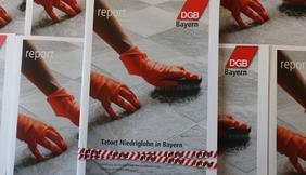 Bild Cover Report Tatort Niedriglohn