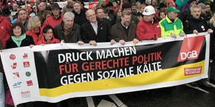 DGB-Demonstration in Hannover, November 2010