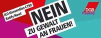 Logo Nein, zu Gewalt an Frauen