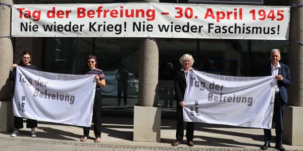 Tag der Befreiung Banneraktion 75 Jahre