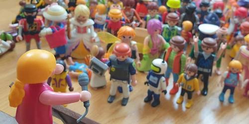 Spielzeug-Demo-Aktion des DGB München
