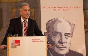 Rede von Matthias Jena zur Verleihung des Wilhelm-Hoegner-Preises 2015