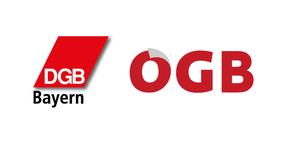 Logos DGB Bayern & ÖGB