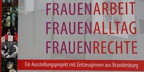 Teaser Ausstellung Frauenarbeit-Frauenalltag-Frauenrechte