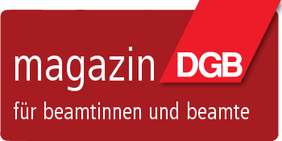 Logo des Beamtenmagazins des DGB