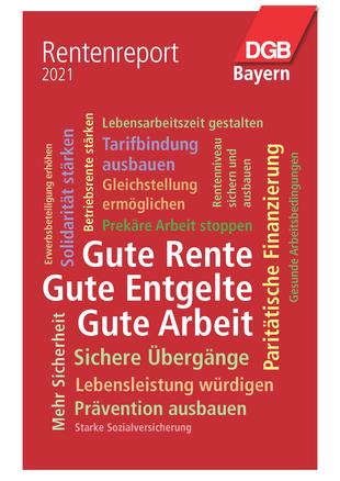 Titelbild Rentenreport Bayern 2021