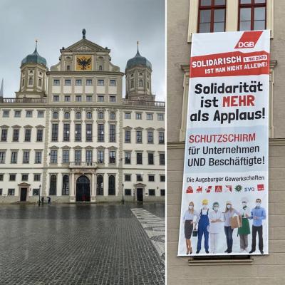 Augsburg 1. Mai 2020