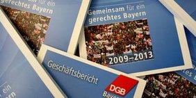 Teaser Geschäftsbericht DGB Bayern
