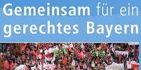 Teaser Geschäftsbericht DGB Bayern 2009-2013