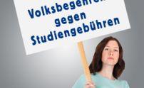 Teaser Volksbegehren Studiengebühren