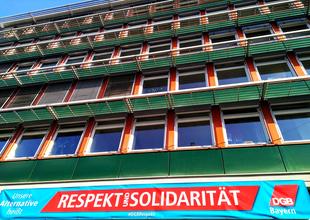 Gewerkschaftshaus Respekt