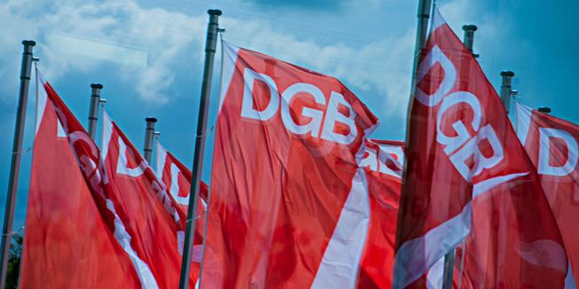 DGB-Fahnen