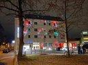 Lichtaktion des DGB Oberpfalz 2020