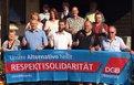"""Fotokampagne """"Unsere Alternative heißt Respekt und Solidarität"""""""