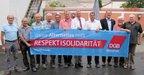 Auch für den OK Hirschau-Schnaittenbach selbstverständlich: Respekt und Solidarität!