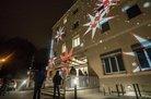 Lichtaktion des DGB Oberpfalz in Regensburg 2020