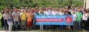 """Foto-Kampagne """"Unsere Alternative heißt Respekt und Solidarität"""" des DGB Bayern"""