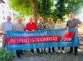 """Fotokampagne des DGB Bayern """"Unsere Alternative heißt Respekt und Solidarität"""""""
