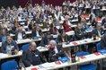 """Der zweite Konferenztag stand ganz im Zeichen des """"Herzstücks der gewerkschaftlichen Arbeit""""..."""