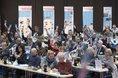 99 Delegierte stimmten über insgesamt 79 Anträge ab.